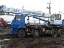 Галичанин КС-55729-1В. Автокран КС-55729-1В на шасси Камаз 6540-А4, 6 700куб. см., 32 000кг., 36м.
