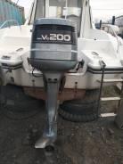 Yamaha. 200,00л.с., 2-тактный, бензиновый, нога X (635 мм), 1992 год год