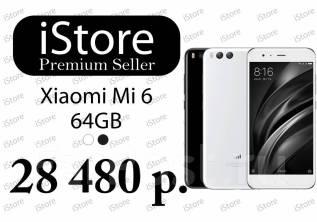 Xiaomi Mi6. Новый, 64 Гб, Белый, Черный