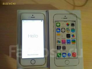Apple iPhone 5s. Б/у, 64 Гб, Золотой, 3G
