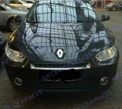 Накладка на фару. Renault Fluence, L30R, L30T Двигатели: K4M, M4R. Под заказ