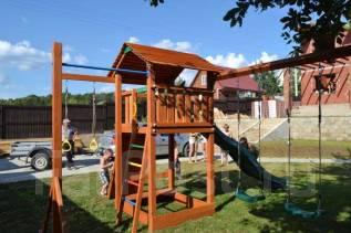 Детская площадка Cottage + доп модули