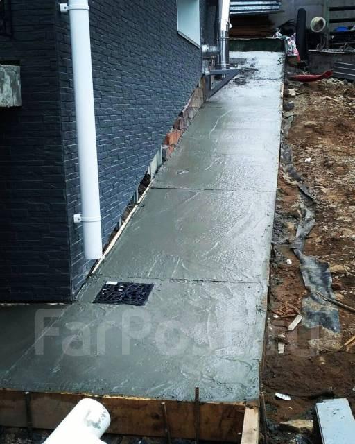 Забор ворот фундамент лестницы сваи бетонные работы металлоконструкции