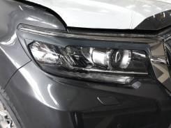 Накладка на фару. Toyota Land Cruiser Prado, GDJ150L, GDJ150W, GDJ151W, GRJ150L, TRJ12, TRJ150L, TRJ150W Двигатели: 1GDFTV, 1GRFE, 2TRFE