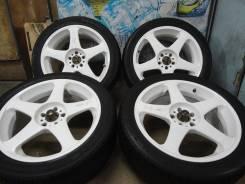 Продам Супер Крутой Редкий Спорт Work Rs-z+Лето 215/45R17Toyota, Subaru. 7.0x17 5x100.00 ET42