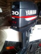Yamaha. 30,00л.с., 2-тактный, бензиновый, нога S (381 мм), 2000 год