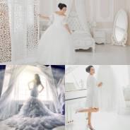 Шикарные свадебные фотосессии в великолепных интерьерах!