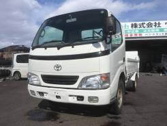 Toyota Dyna. бортовой 1,5 тонник 4ВД! KDY280 рама., 1 500кг., 4x4. Под заказ