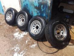Продам шины на дисках Goodride 235/75/15 M+S зима-всесезонные. x15 6x139.70