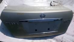 Крышка багажника. Nissan Teana, J31, PJ31, TNJ31 Двигатели: QR25DE, VQ23DE, VQ35DE