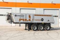 Grunwald. Самосвальный полуприцеп 27 m3 c алюминиевым кузовом., 32 300кг. Под заказ