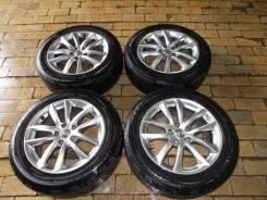 "Колеса Nissan Skyline + резина Dunlop 225/55 R17. 7.5x17"" 5x114.30 ET45"