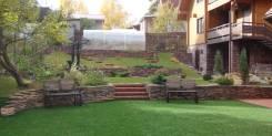 Благоустройство дворовых территорий озеленение