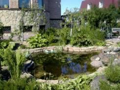 Строительство водопадов фонтанов прудов