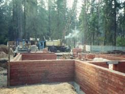 Кладка цоколя и стен строительство