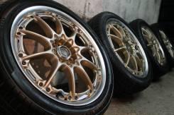"""Только из Японии=Заряженный комплект=RAYS VOLK Racing GT-N+крутые шины. 7.0x17"""" 5x100.00 ET50"""