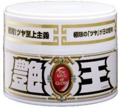 Полироль для кузова усиление блеска Soft99 The King of Gloss для светлых, 300 гр