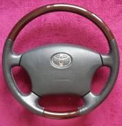 Руль. Toyota: Avalon, Land Cruiser, Aristo, Celsior, Camry Gracia, Avensis, Hilux Surf, Camry, Land Cruiser Prado, Brevis, Avensis Verso, Alphard, Cha...