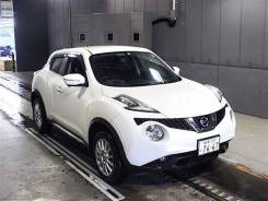 Nissan Juke. вариатор, передний, 1.5 (114л.с.), бензин, 44тыс. км, б/п. Под заказ