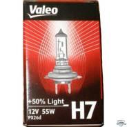Лампа Н7 12х55 рx26d +50% Valeo 032519