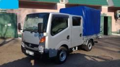 Nissan Atlas. 4WD, двухкабинник+ легкосъемный тент, 3 000куб. см., 1 500кг.