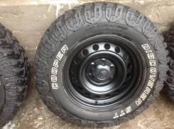 Комплект грязевых колес LT265/70/17. 7.5x17 6x139.70 ET30 ЦО 106,1мм.