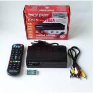 Ресивер Приставка Тюнер для Кабельного ТВ, DVB-T/T2, DVB-C WV Т62A
