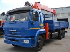 КамАЗ 65117. с КМУ Kanglim 1256 G-2 7 т, 1 000куб. см., 6x4