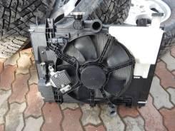 Радиатор охлаждения двигателя. Renault Logan Renault Duster Лада Ларгус Nissan Almera, G15
