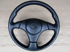 Руль. Toyota: Corolla Spacio, Vitz, Sprinter Trueno, Echo, Corolla, Yaris Verso, Probox, Sprinter Marino, Funcargo, Sprinter, Yaris, Celica, Carina, E...