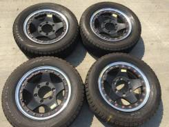 205/60 R15 Bridgestone Blizzak VRX литые диски 6х139.7 (K13-1508)