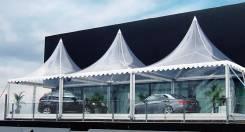 Изготовление и установка шатров для отдыха и мероприятий