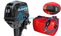Gladiator. 9,80л.с., 2-тактный, бензиновый, нога S (381 мм), Год: 2018 год. Под заказ