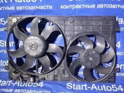 Вентилятор охлаждения радиатора. Volkswagen: Passat, Caddy, Eos, Jetta, Touran, Golf Двигатели: AXX, AXZ, BKC, BKP, BLF, BLP, BLR, BLS, BLV, BLX, BLY...