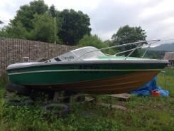 Hunterboat. 1992 год год, длина 4,50м., двигатель подвесной, 55,00л.с., бензин
