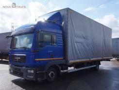 MAN TGL. Бортовой тентованный грузовик 8.220, 4 580куб. см., 2 300кг.