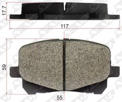 Колодки тормозные, комплект SAT ST0446520550