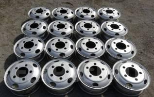 """Грузовые Японские Диски R16х5,5 (бескамерные) Toyota Mazda HINO 5-шпил. 5.5x16"""", ЦО 146,0мм."""