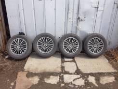 """Продам колеса на 17 с летней резиной. 7.0x17"""" 5x114.30 ET35 ЦО 60,8мм."""