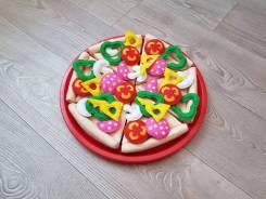 Пицца из фетра для детей. Под заказ
