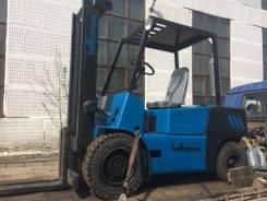 Balkancar. Болгарский вилочный дизельный погрузчик грузоподъемность 3.5 тонн, 3 500кг.