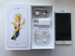 Apple iPhone 6s Plus. Б/у, 128 Гб, Желтый, Золотой, 4G LTE