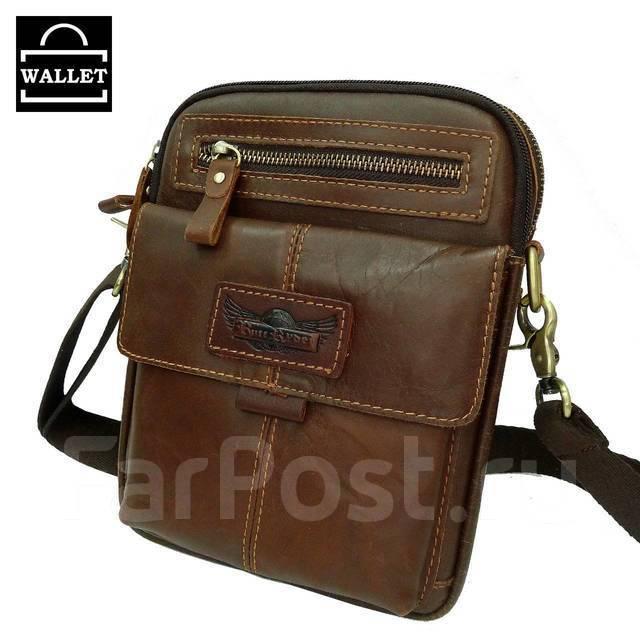 a7963e497c80 Мужская сумка из натуральной кожи через плечо - Аксессуары и ...