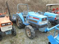 Iseki. Трактор 25 л. с., 4wd, ВОМ, фреза, навеска на 3 точки, ГУР, Реверс, 25 л.с.