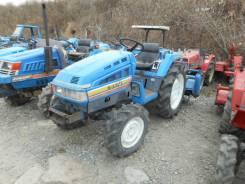 Iseki. Трактор 22л. с., 4wd, ВОМ, фреза, навеска на 3 точки, 22 л.с.