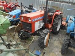 Hinomoto E224. Трактор 22л. с., 4wd, ВОМ, фреза, навеска на 3 точки