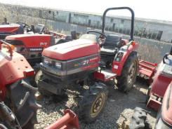 Mitsubishi. Трактор 21л. с., 4wd, ВОМ, фреза, навеска на 3 точки, Реверс, 21 л.с.