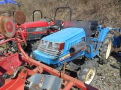 Iseki. Трактор 20 л. с., 4wd, ВОМ, фреза, навеска на 3 точки, 20 л.с.