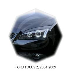 Накладка на фару. Ford Focus, CB4 Двигатели: AODA, AODB, ASDA, ASDB, HWDA, HWDB, HXDA, HXDB, KKDA, KKDB, QQDB, SHDA, SHDB, SHDC, SIDA