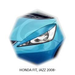 Накладка на фару. Honda Jazz, GD1, GD5, GG6, UCS69DWH Honda Fit Двигатели: 4JG2, L12A, L13A, L13Z1